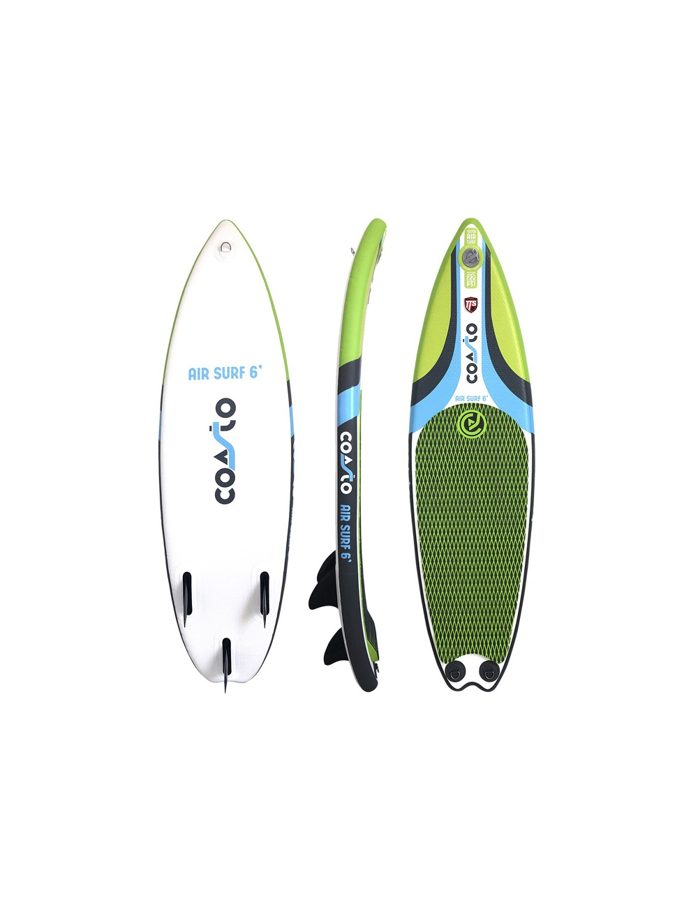 Tabla SUP hinchable Coasto Airsurf 6' con quillas fijas