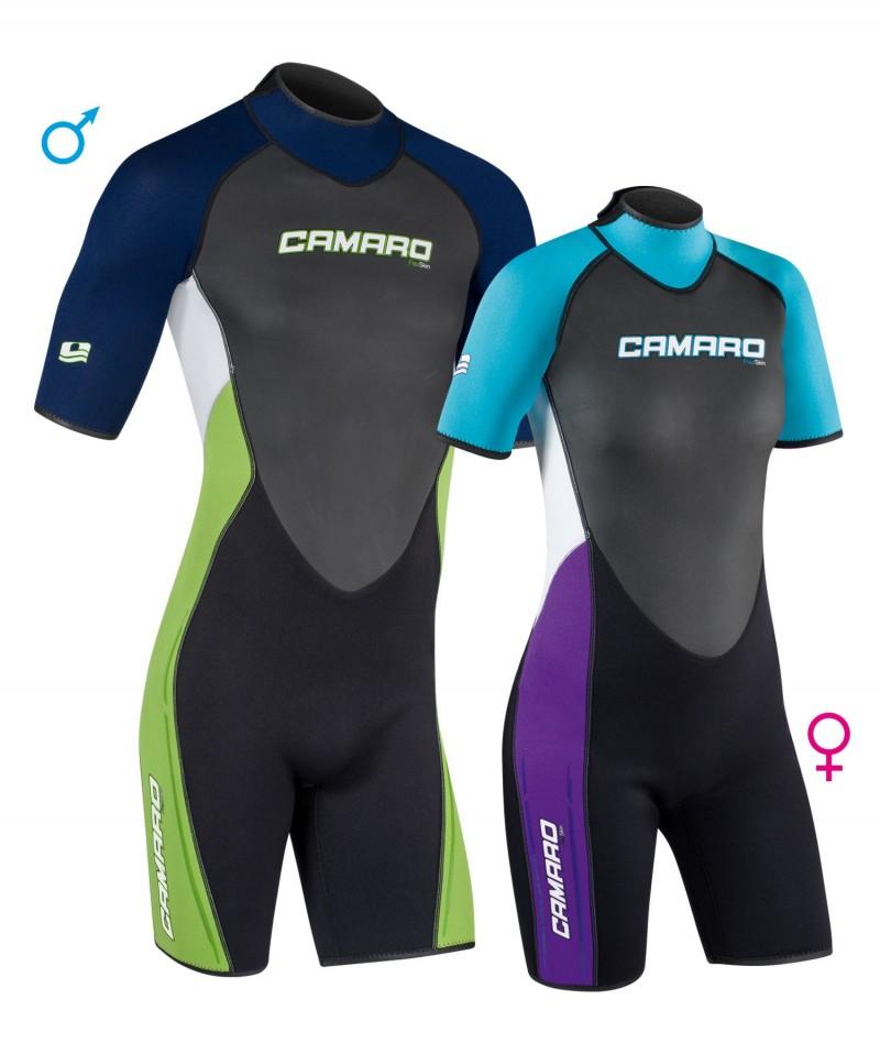 Short Wetsuit REVO SHORTY 2.0 Camaro